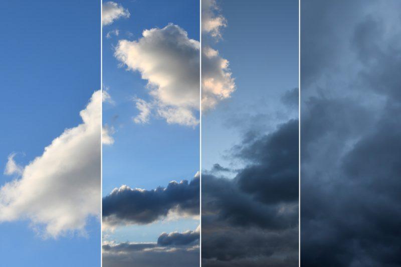 oblaky spolu